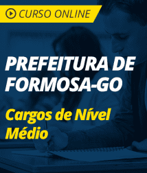 Português para os Cargos de Nível Médio da Prefeitura de Formosa - GO