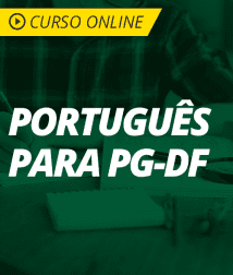 Português para PG-DF