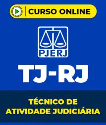 Curso TJ-RJ - Técnico de Atividade Judiciária