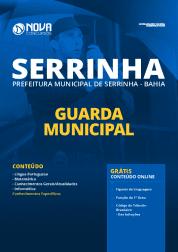 Apostila Prefeitura de Serrinha - BA 2020 - Guarda Municipal