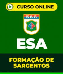 História do Brasil para ESA - Formação de Sargentos