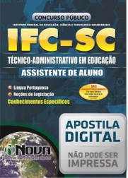 Técnico Administrativo em Educação - Assistente de Alunos
