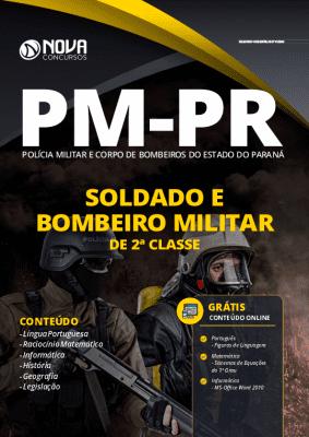 Apostila PM-PR PDF 2020 - Soldado e Bombeiro Militar 2ª Classe