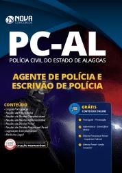 Apostila PC-AL 2020 - Agente e Escrivão de Polícia
