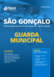 Apostila Prefeitura de São Gonçalo - RJ 2020 - Guarda Municipal