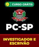 Curso Grátis PC-SP - Investigador e Escrivão