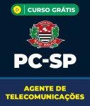 Curso Grátis PC-SP - Agente de Telecomunicações