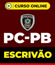 Curso Escrivão PC-PB