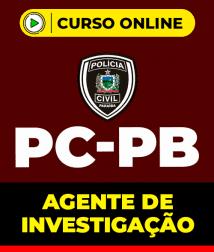 Curso Agente de Investigação PC-PB