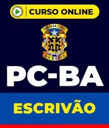 Curso Escrivão PC-BA