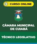 Curso Câmara Municipal de Cuiabá - MT - Técnico Legislativo