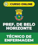 Curso Prefeitura de Belo Horizonte - Técnico de Enfermagem