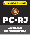 Curso PC-RJ - Auxiliar Policial de Necropsia (pós-edital)