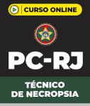 Curso PC-RJ - Técnico Policial de Necropsia (pós-edital)