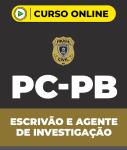 Curso Grátis PC-PB Escrivão e Agente de Investigação (pós-edital)