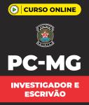 Curso Grátis PC-MG Investigador e Escrivão (pós-edital)