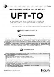 Apostila UFT - TO - Assistente em Administração