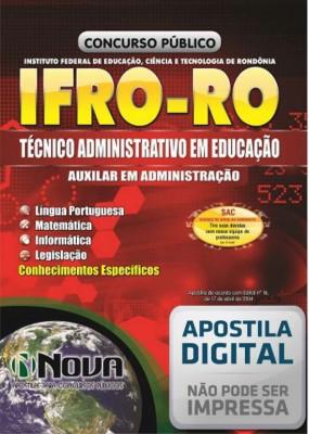 Técnico Administrativo em Educação - Auxiliar em Administração