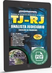 Analista Judiciário - Especialidade Execução de Mandados