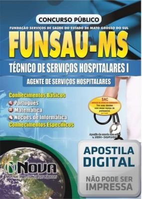 Técnico de Serviços Hospitalares I - Agente de Serviços Hospitalares