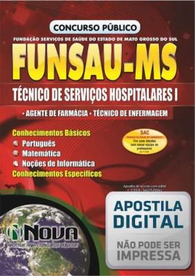 Técnico de Serviços Hospitalares I - Agente de Farmácia e Técnico de Enfermagem