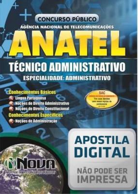 Técnico Administrativo - Especialidade em Administração