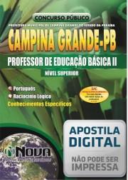Professor de Educação Básica II