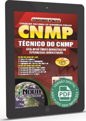 Técnico do CNMP (Digital)
