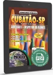 Auxiliar I - Inspetor de Alunos (Digital)