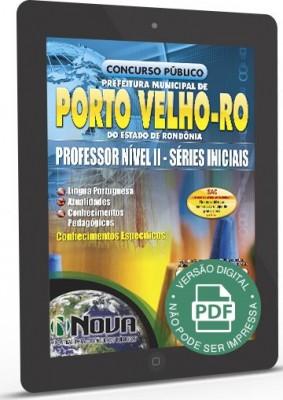 Professor Nível II - Séries Iniciais (Digital)