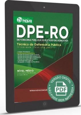 Técnico de Defensoria Pública - Oficial de Diligência (Digital)