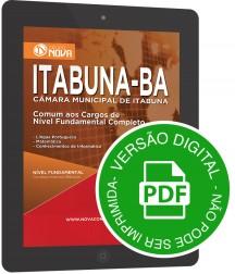 Comum aos Cargos de Nível Fundamental (Digital)