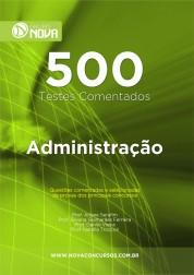 500 Testes de Administração (Impresso)