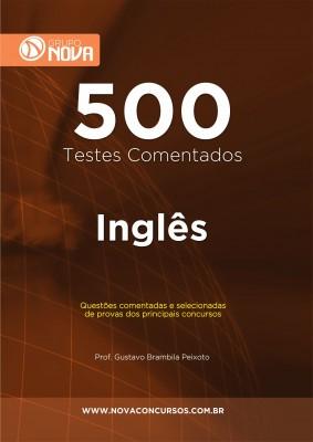 500 Testes de Inglês (Impresso)