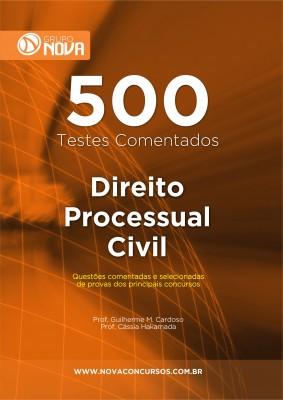 500 Testes de Direito Processual Civil (Impresso)