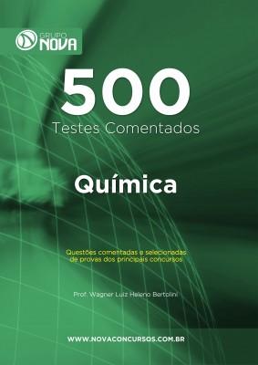 500 Testes de Química (Impresso)