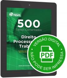 500 Testes de Direito Processual do Trabalho (Digital)