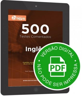 500 Testes de Inglês (Digital)