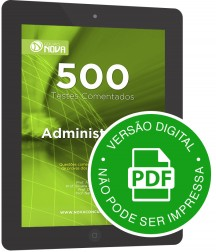 500 Testes de Administração (Digital)