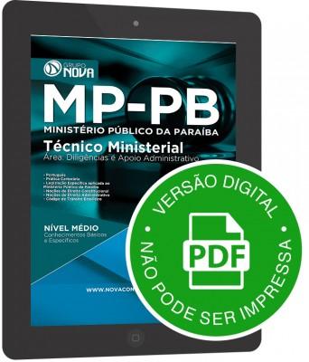 Técnico Ministerial - Diligências e Apoio Administrativo (Digital)