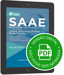 Comum aos Cargos de Nível Médio e Técnico (Digital)