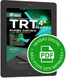 Analista Judiciário - Área Administrativa (Digital)