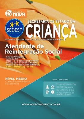 Atendente de Reintegração Social - Preparatória (Impresso)