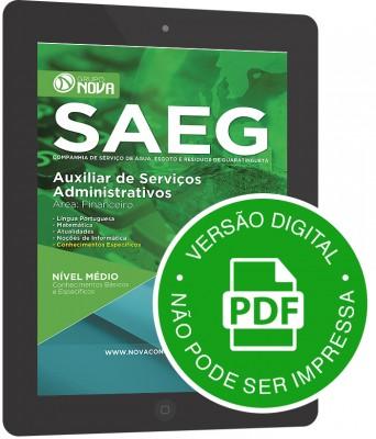 Auxiliar de Serviços Administrativos – Financeiro (Digital)
