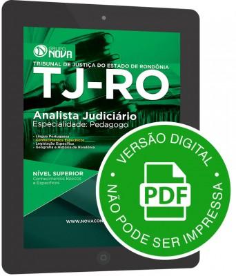 Analista Judiciário – Especialidade: Pedagogo (Digital)