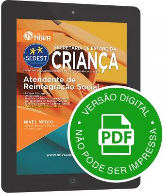 Atendente de Reintegração Social - Preparatória (Digital)