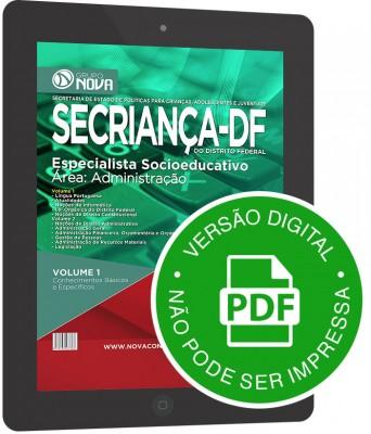 Especialista Socioeducativo - Área: Administração (Digital)