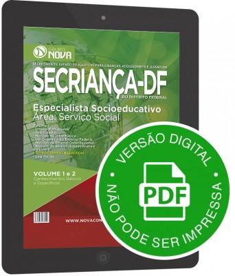 Especialista Socioeducativo - Área: Serviço Social (Digital)