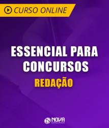 Curso Online Essencial para Concursos - Redação