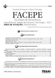 Assistente de Gestão de Ciência e Tecnologia - Área Administrativa (Digital)